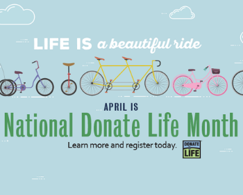 Events Planned for National Donate Life Month in April
