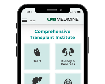 UAB Launches Transplant App for Referring Physicians
