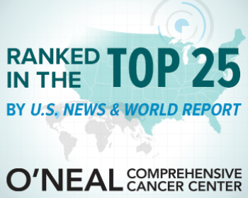O'Neal Cancer Center at UAB Ranked No. 25 by U.S. News