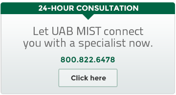 24 Hour Consultation UAB MIST 800.822.6478